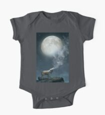 The Light of Starry Dreams (Wolf Moon) One Piece - Short Sleeve