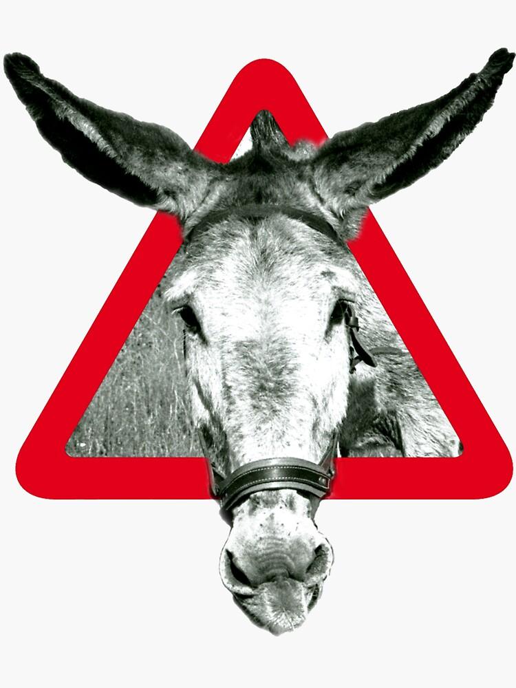 Peligro: Súper Terco - señal de advertencia de theiban