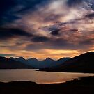 Arrochar Alps At Loch Arklet by Aj Finan
