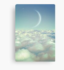 Dream Above The Clouds Canvas Print