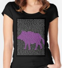 """The Year Of The Pig / Boar"" Clothing Women's Fitted Scoop T-Shirt"