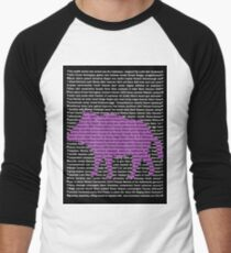 """""""The Year Of The Pig / Boar"""" Clothing Men's Baseball ¾ T-Shirt"""