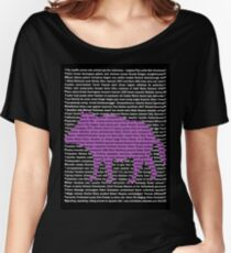 """""""The Year Of The Pig / Boar"""" Clothing Women's Relaxed Fit T-Shirt"""
