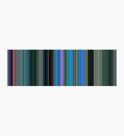 Moviebarcode: Finding Nemo (2003) [Simplified Colors] Photographic Print