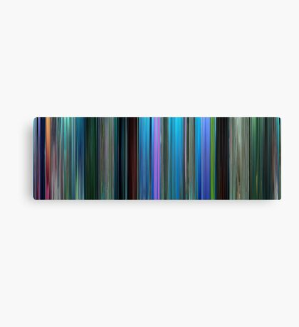 Moviebarcode: Finding Nemo (2003) Canvas Print
