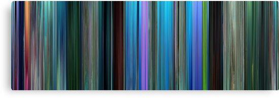 Moviebarcode: Finding Nemo (2003) by moviebarcode