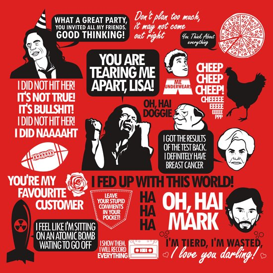 TShirtGifter presents: The Room Quotes