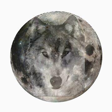 Wolf Moon 2 by Borror