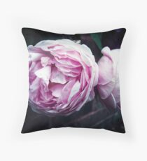 The Wedgwood Rose Throw Pillow