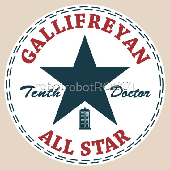 TShirtGifter presents: Gallifreyan All Star
