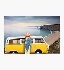 Surfer Van Photographic Print