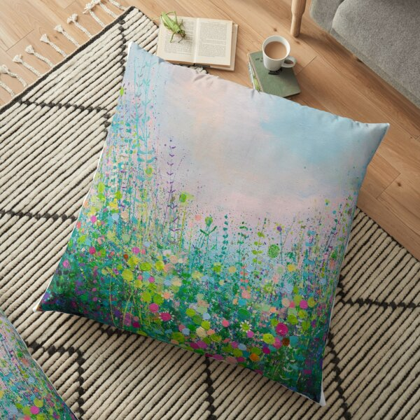Bright Winters Day  Floor Pillow