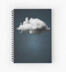WAITING MAGRITTE Spiral Notebook