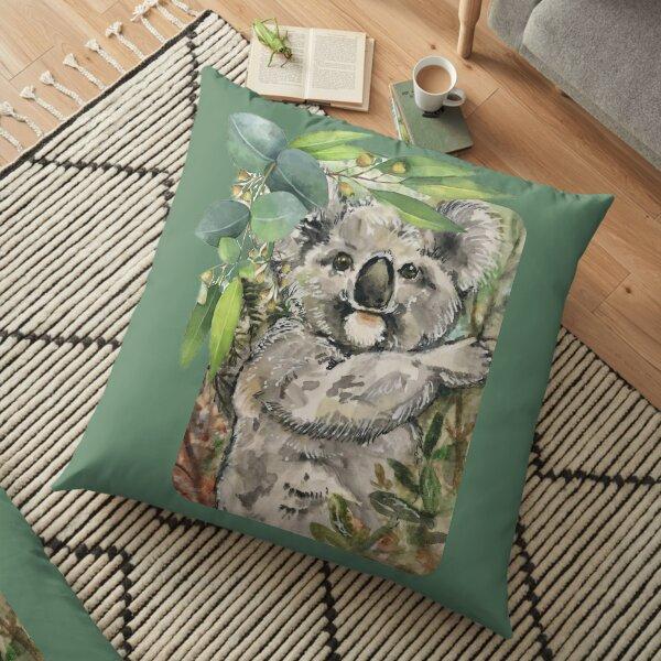 Koala Love -Beautiful Creature Floor Pillow