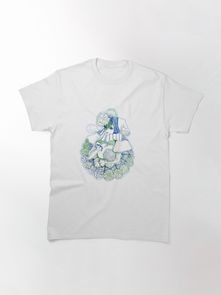Alternate view of Feeling Blue. Mask Series Classic T-Shirt