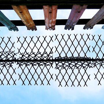 Rainbow Fence by LJKennedy