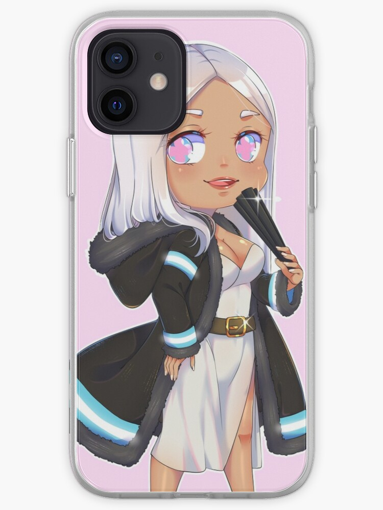 Enen No Shouboutai Princess Hibana Fire Force Iphone Case Cover By Ikane96 Redbubble Colleen clinkenbeard is the english dub voice of princess hibana in fire force, and lynn is the japanese voice. redbubble
