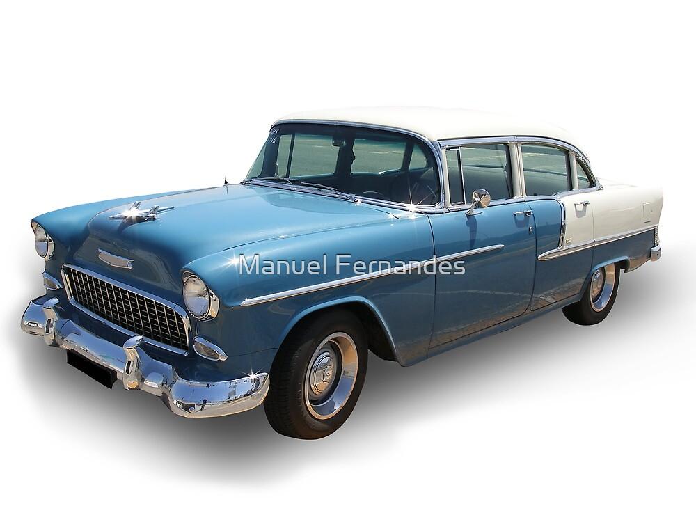 Blue Cadillac by Manuel Fernandes