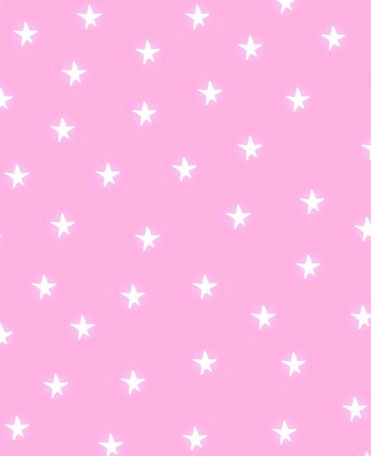 "Pink Background with Stars"" iPad Case & Skin by jenbun | Redbubble"