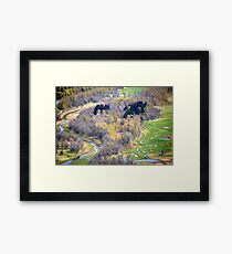 """One view from Crown Point, Oregon"" Framed Print"