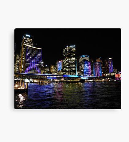 Vivid Sydney 2013 Canvas Print