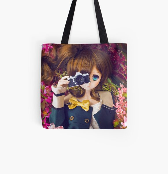 Millhiore's Valentine All Over Print Tote Bag