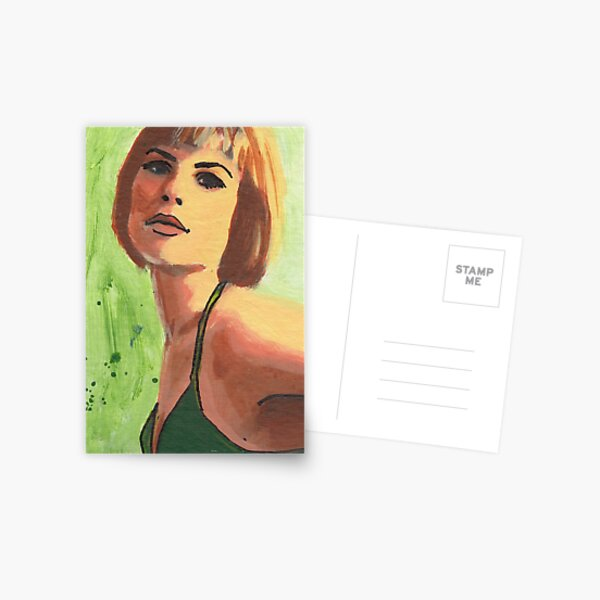 Spring (card) Postcard