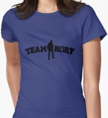Team Rory Doctor Who  Womens Fitted T-Shirt
