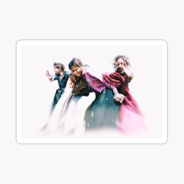 gypsy girls of rajasthan Sticker
