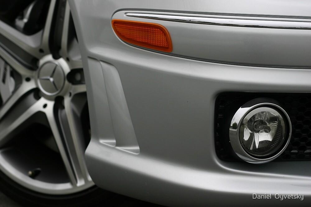 Mercedes CLK63 AMG Right Clip by Daniel  Oyvetsky