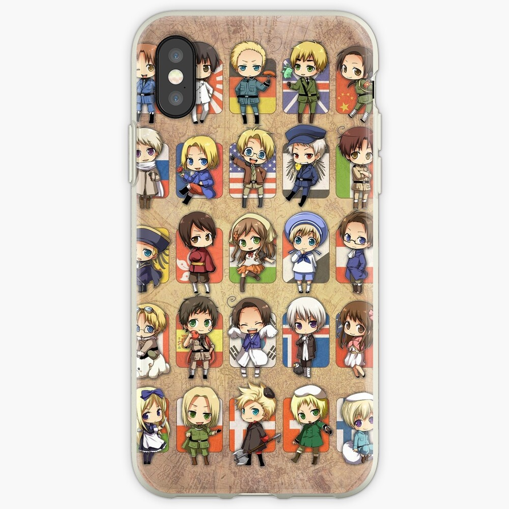 Hetalia Group iPhone Case & Cover