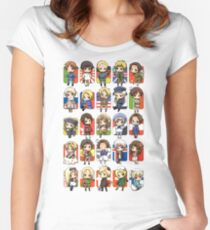Hetalia Group Women's Fitted Scoop T-Shirt