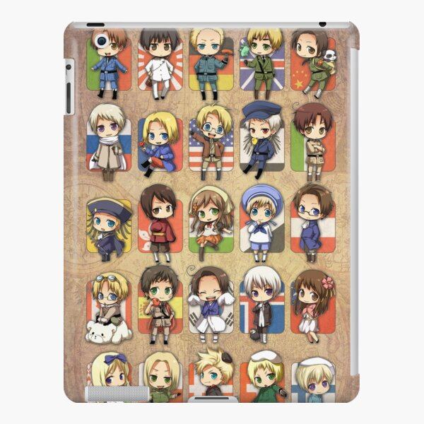 Hetalia Group iPad Snap Case