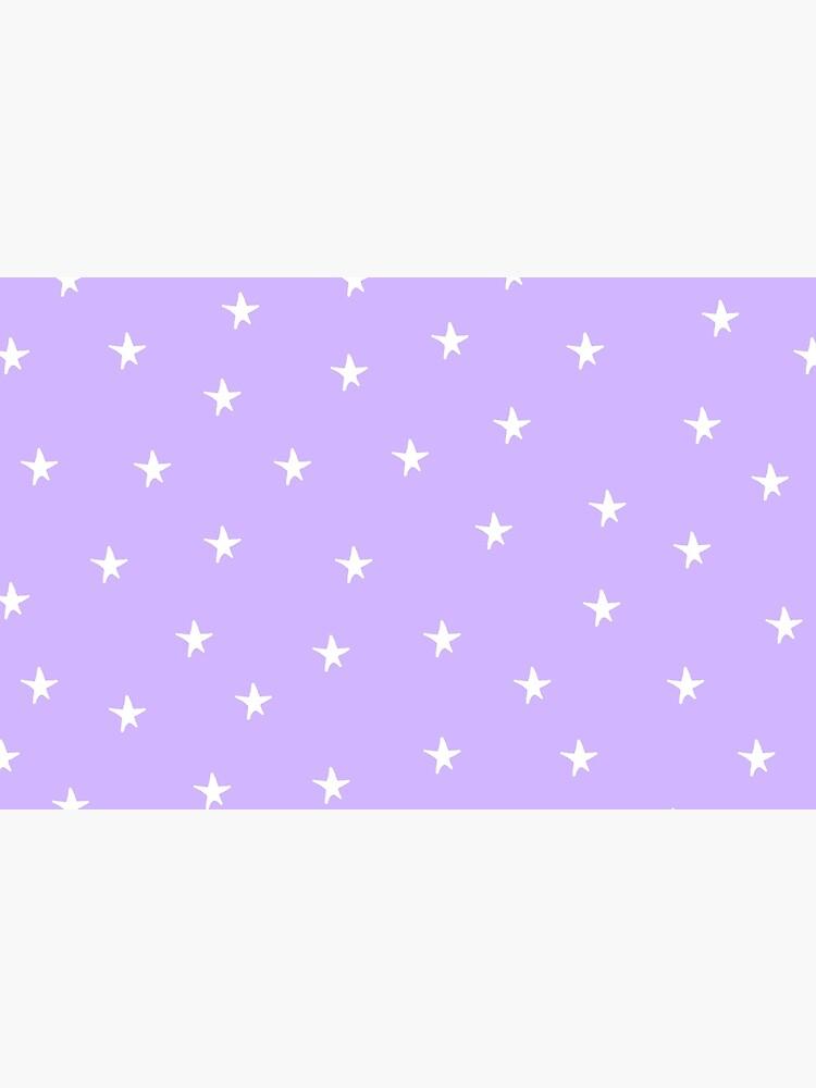 "Light purple background with stars"" Laptop Skin by jenbun | Redbubble"