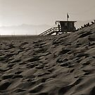 Sand & Lifeguard House by Tom Deters