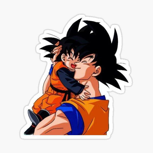 Goku et Goten Sticker Sticker