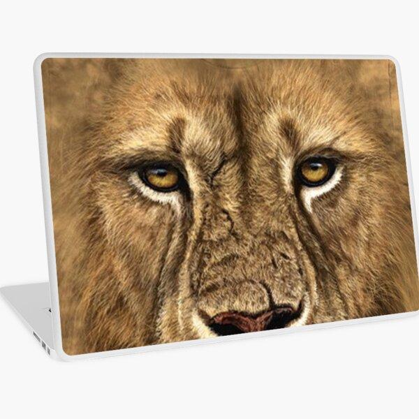 3D Lion T-Shirt #3DLionTShirt #3DLion #TShirt #Lion Laptop Skin