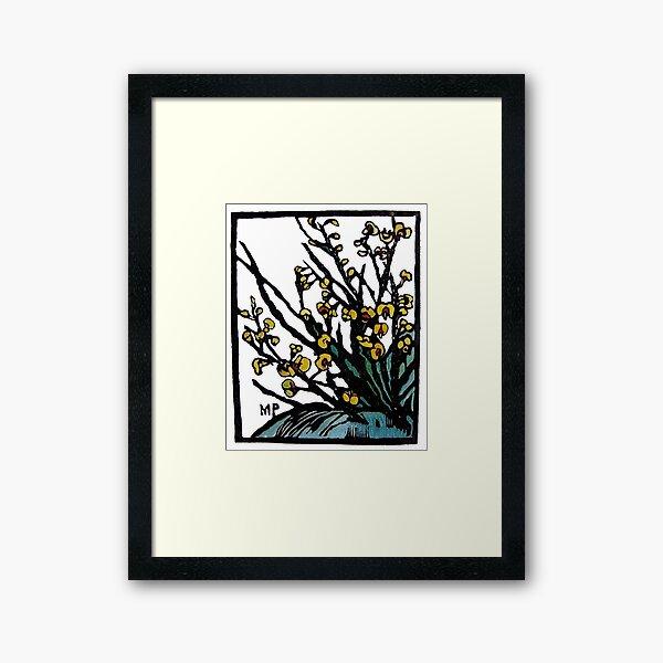 """Bossissia"" by Margaret Preston Framed Art Print"