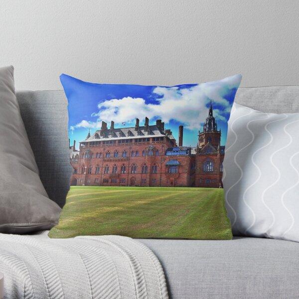 Mount Stuart House Isle of Bute Throw Pillow