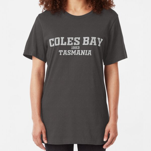 Coles Bay Tasmania Slim Fit T-Shirt