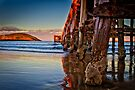Sunset - Coffs Harbour Jetty by Normf