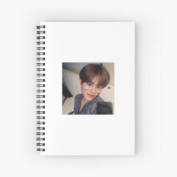 daehwi selfie Spiral Notebook