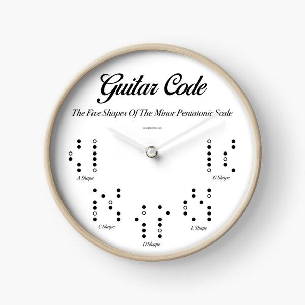 Guitar Code. Clock