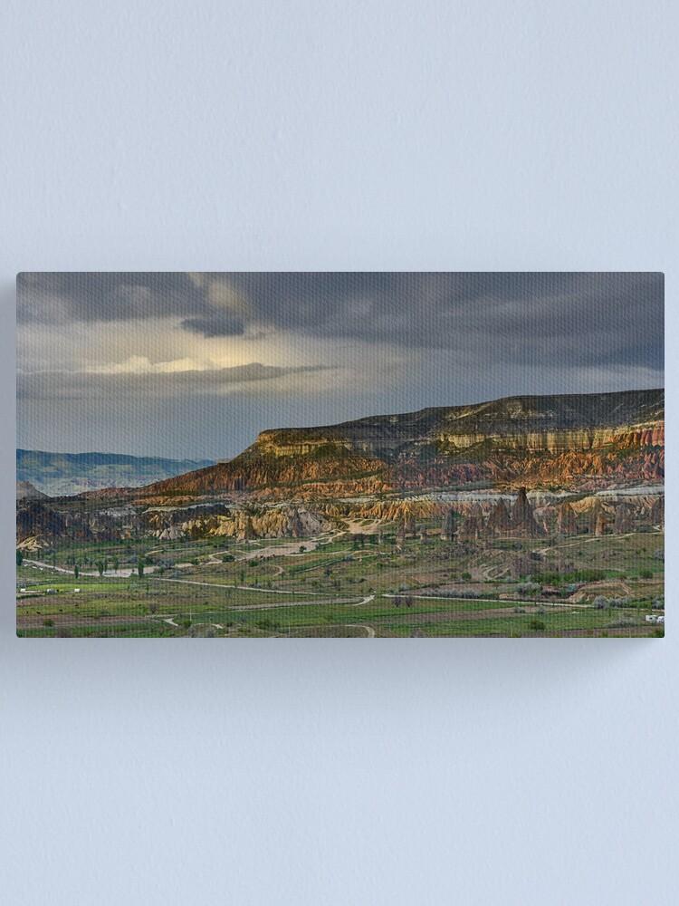 Alternate view of Red Hills, Cappadocia Canvas Print