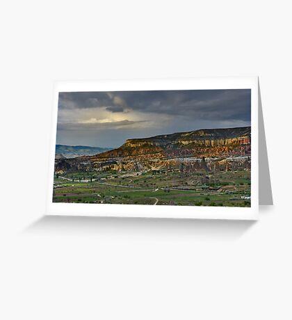 Red Hills, Cappadocia Greeting Card