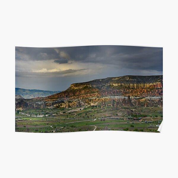 Red Hills, Cappadocia Poster