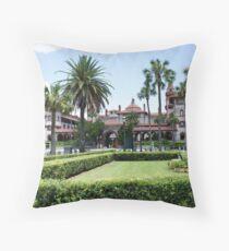 Ponce De Leon Hotel Throw Pillow