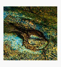 Eye of the Crocodile III [Print & iPad Case] Photographic Print