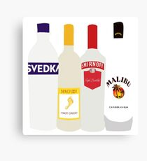 Alc Cartoon Canvas Print