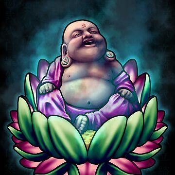 Buddha Bliss by tattooedtheory